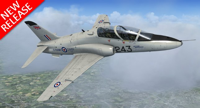 Livery Pack 3 for the Hawk T1/A Advanced Trainer