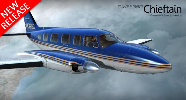 Alabeo PA-31 Chieftain 350