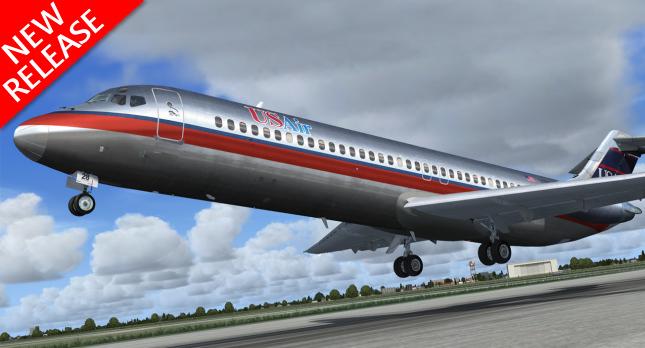Sky Simulations DC-9
