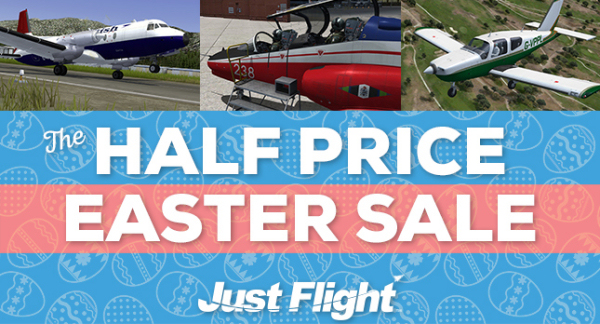 Just Flight Easter Sale