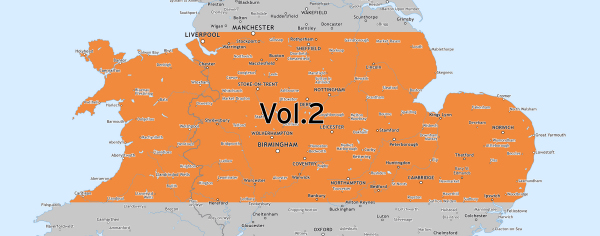 Volume 2 area coverage