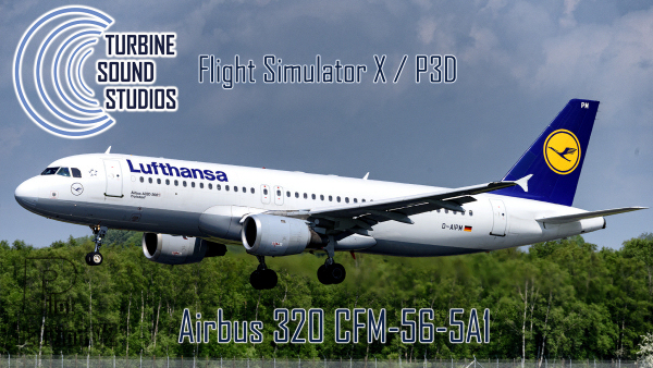 TSS Airbus 320 CFM56-5A1 Pilot Edition v2 Sound Package