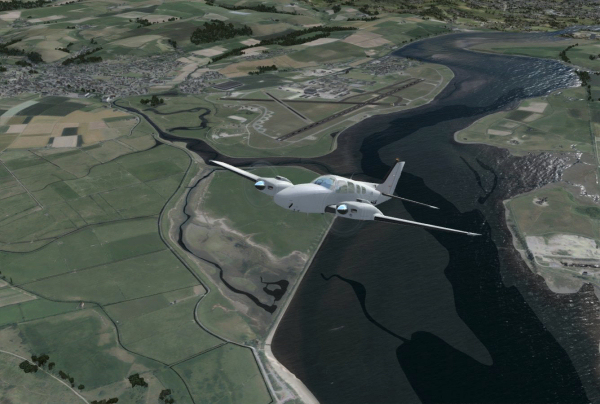 VFR Real Scenery NexGen 3D - Vol. 1: Southern England & South Wales