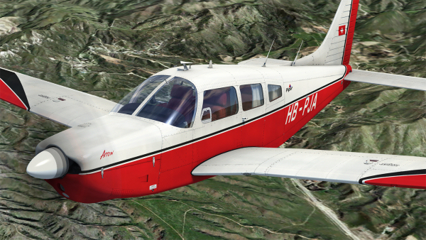 Just Flight PA-28R Arrow III