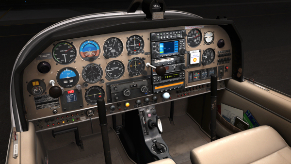 Just Flight Robin DR400 (for P3D & FSX)