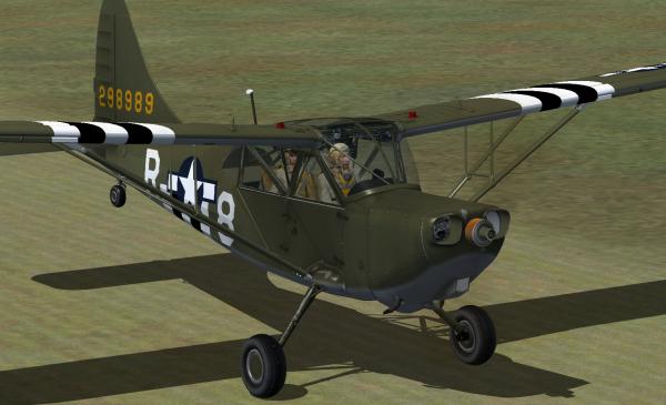 Aeroplane Heaven Stinson L-5 Sentinel