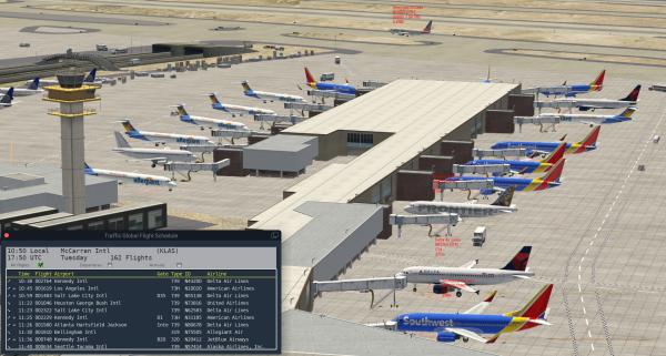 Traffic Global for X-Plane 11 (Mac edition)