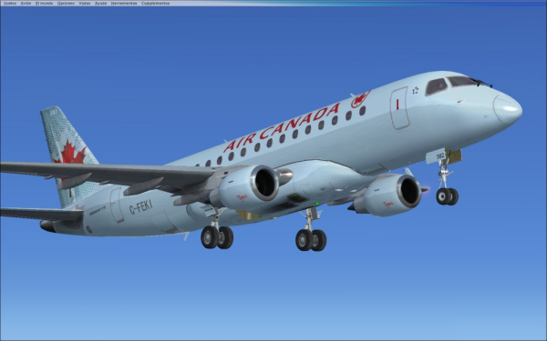 Virtualcol FS - Embraer 170-175 Regional Jets X
