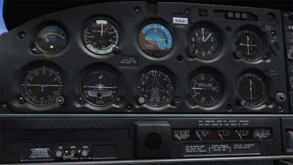 PA-28-181 Warrior II (for P3D)