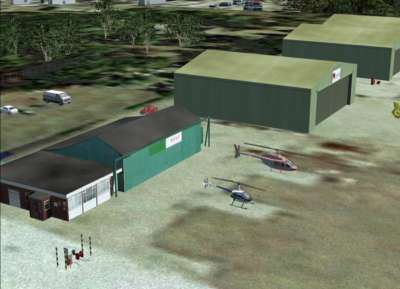 Screen shot for Real Scenery Airfields - Denham