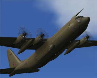 Screen shot for C-130 Hercules (for FSX & FS2004)