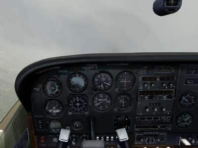 Screen shot for Carenado C182Q Skylane II (FOR FSX)