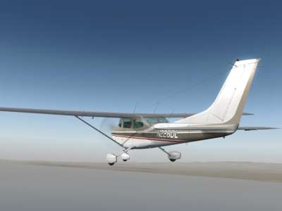 Screen shot for Carenado C182Q Skylane II (FOR FSX)