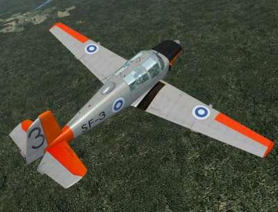 FSX model shown