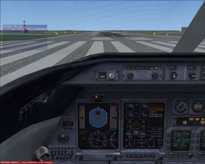 In-flight message - fault with landing gear