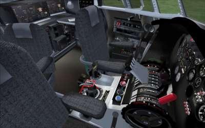 VC - co-pilot's seat