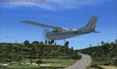 M40 Stokenchurch (VFR Real Scenery 10m Mesh)