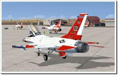 F 16 falcon simulator