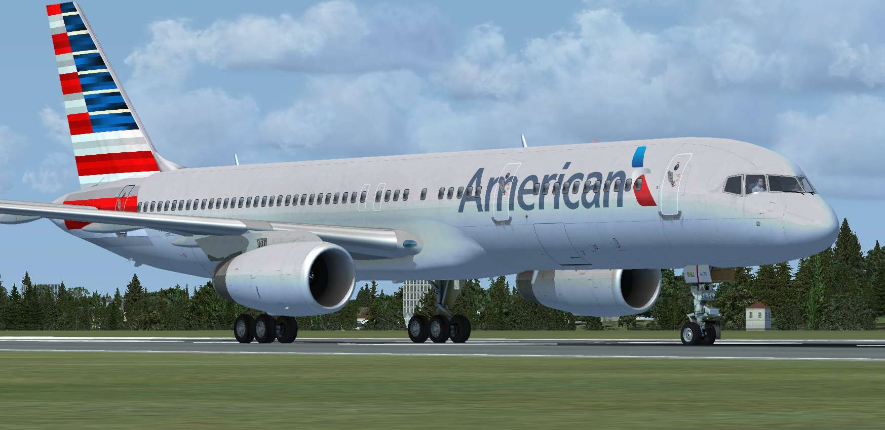 Just flight 757 jetliner freemium free american airlines 2013