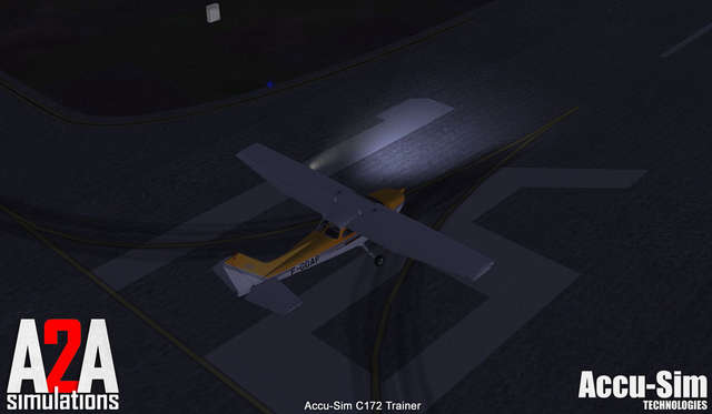 A2A Cessna 172 with Accu-Sim