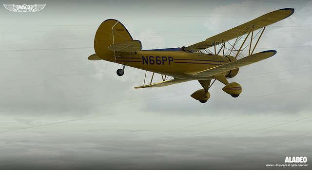 Alabeo Waco YMF 5