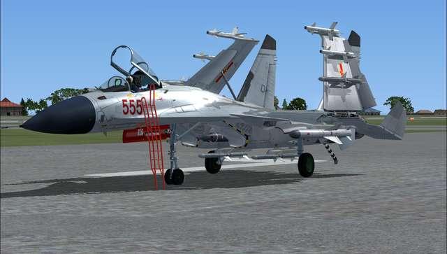 Bear Studios J-15 Naval Flanker