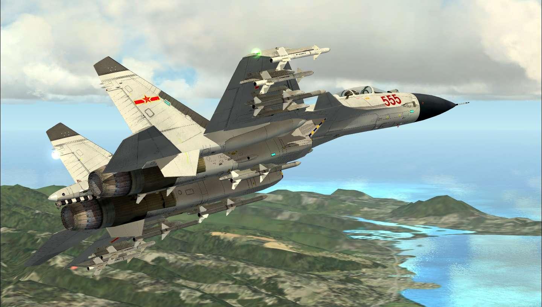 Just Flight - Bear Studios J-15 Naval Flanker