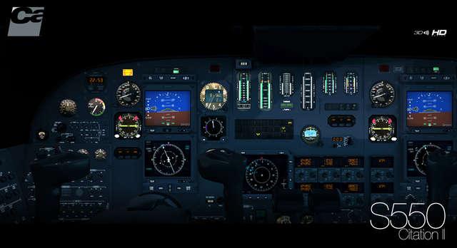 Carenado - S550 Citation II - HD Series Aerosoft Shop