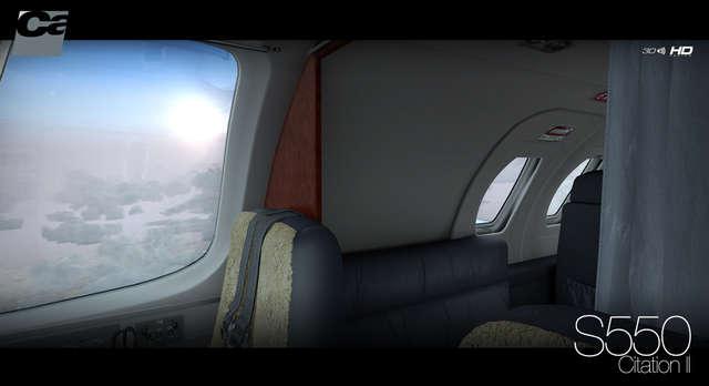 Cessna S550 Citation II HD Series for FSX/P3D by Carenado