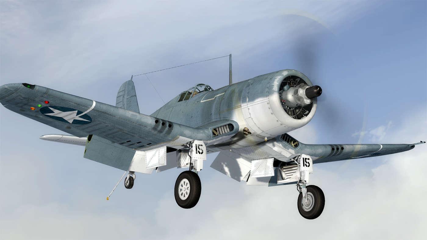 Just Flight F4U 1 Corsair Birdcage