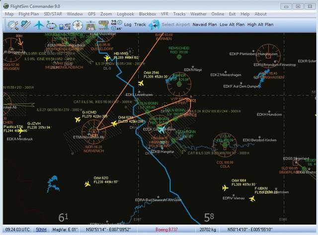 FlightSim Commander 9.2