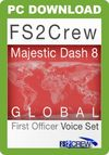 FS2Crew: Majestic Dash 8 Global FO Voice Set