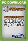 FS2Crew: PMDG 737 NGX Reboot Captain's Set