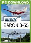 MilViz Baron B55