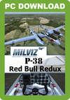 MilViz P-38 Red Bull