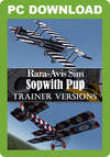 Rara-Avis Sim Sopwith Pup - Trainer Versions
