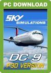Sky Simulations McDonnell Douglas DC-9 (for P3D)