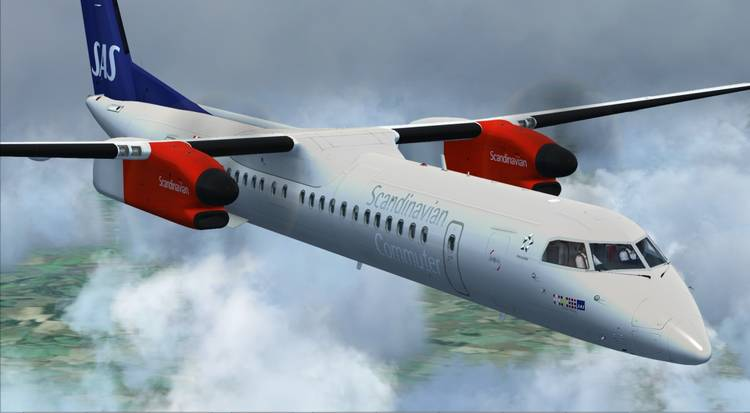 Just Flight - New P3D v4 editions of the Majestic Software Dash 8 Q400