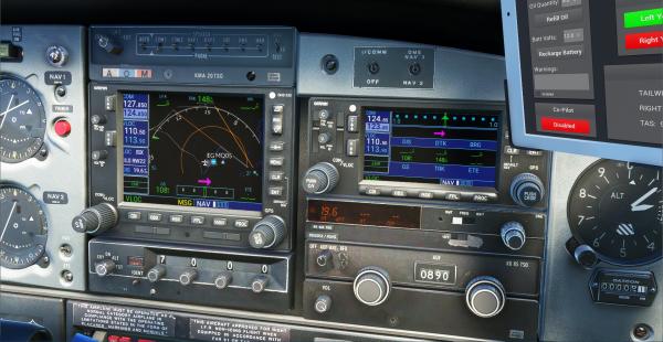 PA-28R Turbo Arrow III/IV for MSFS