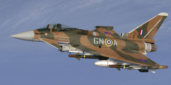 Eurofighter - 75th Anniversary Battle of Britain livery