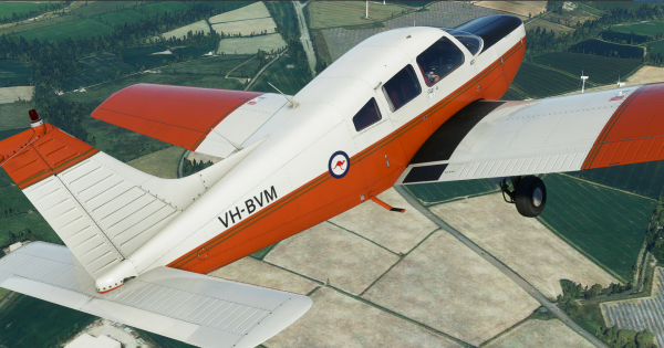 Just Flight PA-28-161 Warrior II for Microsoft Flight Simulator