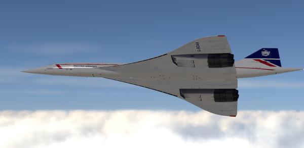 DC Designs Concorde