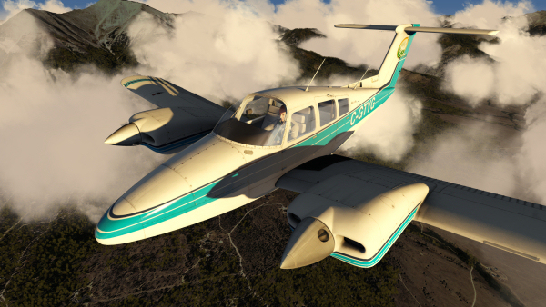 Duchess Model 76 for Aerofly FS 2