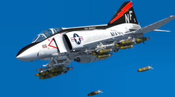Advanced Series F-4J/S Phantom II