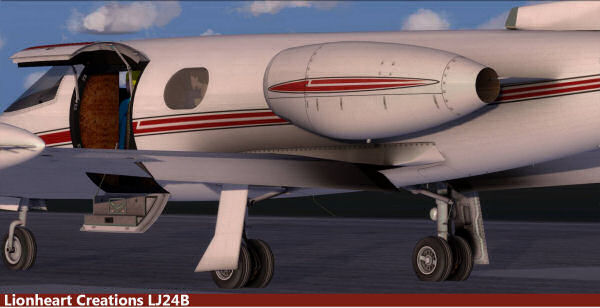 Lionheart Creations Classic LJ24B Business Jet