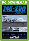 146-200 Jetliner Livery Bundle Pack