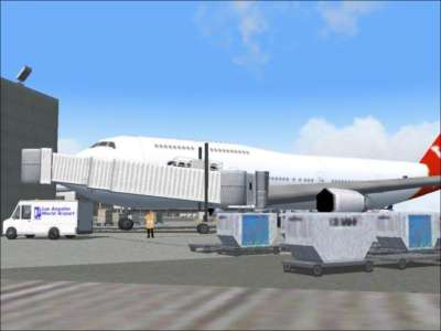 Screen shot for World Airports Los Angeles (Full Version)
