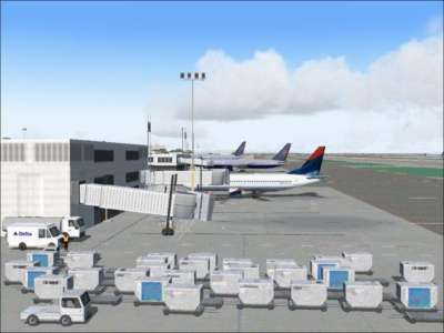 Screen shot for World Airports Los Angeles (Upgrade Version)