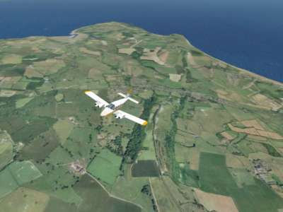 Screen shot for VFR Real Scenery - Isle of Wight