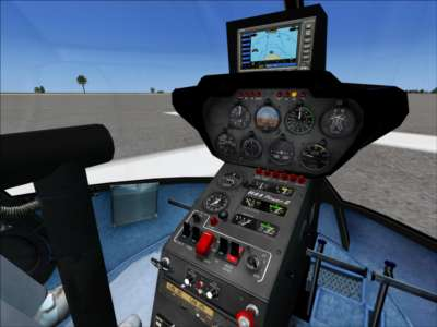 Screen shot for Flying Club R44 Helicopter (Download)